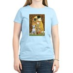 The Kiss & Bull Terrier Women's Light T-Shirt
