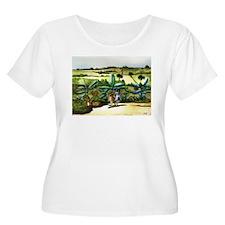 Sisters-Hermanitas Jibaras -Women's T-Shirt