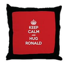 Hug Ronald Throw Pillow