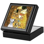 The Kiss & Bull Terrier Keepsake Box