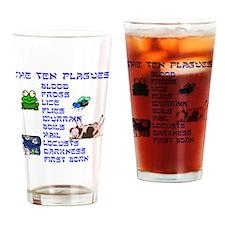 The Ten Plagues Drinking Glass