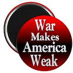 10 Round Discount Anti-War Magnets