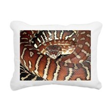 Bredl's Python Rectangular Canvas Pillow