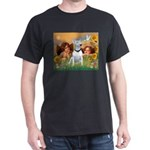 Angels & Bull Terrier #1 Dark T-Shirt