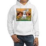 Angels & Bull Terrier #1 Hooded Sweatshirt