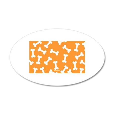 XX Orange Wall Decal