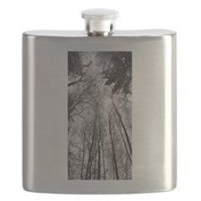 Snowy Tree Canopy Flask