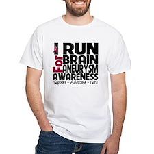I Run For Brain Aneurysm T-Shirt
