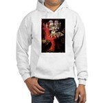 The Lady's Bull Terrier Hooded Sweatshirt