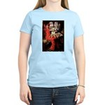 The Lady's Bull Terrier Women's Light T-Shirt