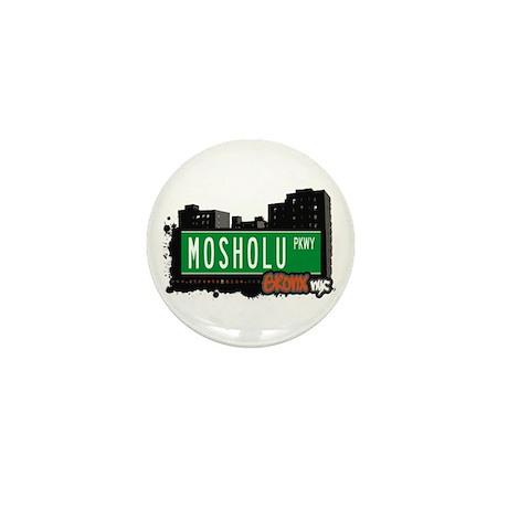 Mosholu Pkwy, Bronx, NYC Mini Button