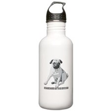 Pug Alert Water Bottle
