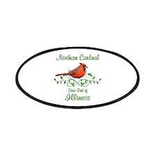 Cardinal Illinois Bird Patches