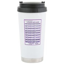 Cute Persistence Travel Mug