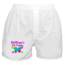 BLESSED 70TH Boxer Shorts