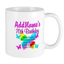 BLESSED 70TH Mug