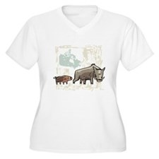 Mommy & Baby Canadian Boars T-Shirt