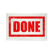 Done! Graduation Rectangle Magnet (100 pack)