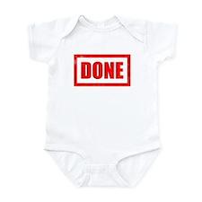 Done! Graduation Infant Bodysuit