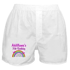 70TH RAINBOW Boxer Shorts