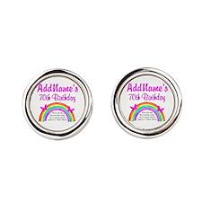70TH RAINBOW Cufflinks