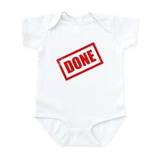 Done Stamp Infant Bodysuit