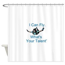 Skydiving Shower Curtain