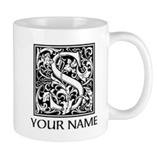 Custom Decorative Letter S Mugs