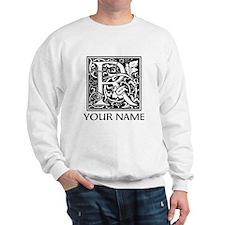 Custom Decorative Letter R Sweatshirt