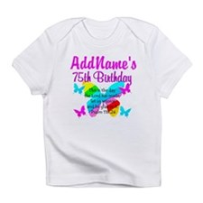 75TH BUTTERFLY Infant T-Shirt