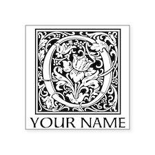 Custom Decorative Letter O Sticker