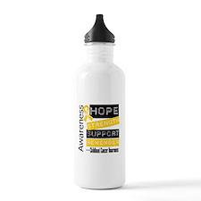 Childhood Cancer Stre Water Bottle