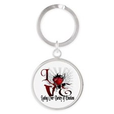 Ray of hearts Keychains