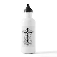 Flourish Cross Water Bottle