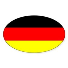 "German Flag Decal, 3""x5"" Decal"