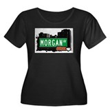 Morgan Av, Bronx, NYC Women's Plus Size Scoop Neck