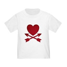 Red Heart and Arrows T-Shirt
