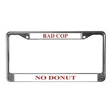 A License Plate Frame
