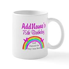 75TH RAINBOW Small Mug