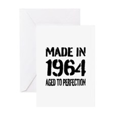 1964 Aged to perfection Greeting Cards