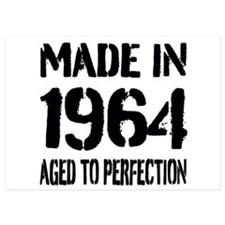 1964 Aged to perfection Invitations
