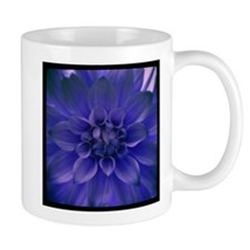 Dahlia in Blue Mugs