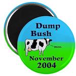 Dump Bush Moo Cow Magnet (10 pack)