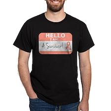 Uterine Cancer Survivor T-Shirt