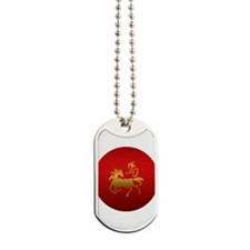 Cool Baby new years Dog Tags
