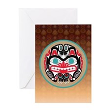 Haida Bear Greeting Cards