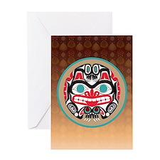 Haida Bear Greeting Cards