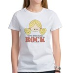 Girls with Curls Rock Women's T-Shirt