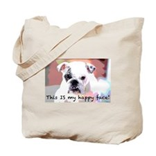 This is my happy face! Tote Bag
