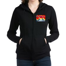 Be Original Rainbow Cheesecake Zip Hoodie